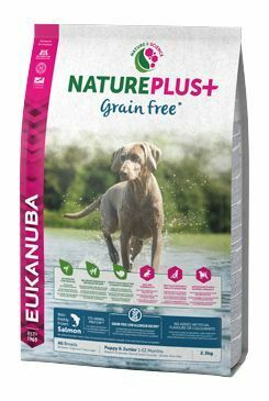 Eukanuba Dog Nature Plus+ Puppy Grain Free Salmon 2,3kg