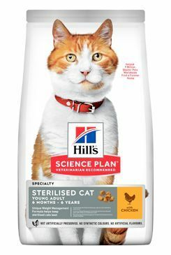 Hill's Fel. Dry Adult Young Sterilised Cat Chicken 1,5kg