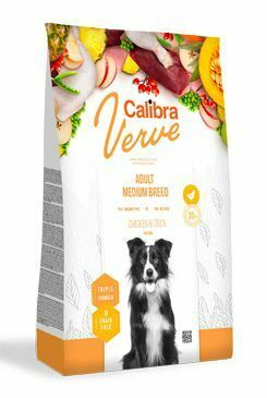 Calibra Dog Verve GF Adult Medium Chicken&Duck 2kg