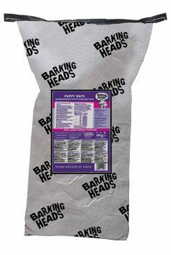 BARKING HEADS Puppy Days NEW (Large Breed) 18kg