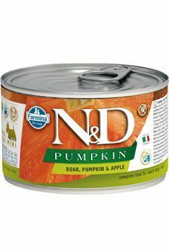 N&D DOG PUMPKIN Adult Boar & Apple Mini 140g