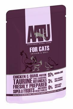 AATU Cat Chicken n Quail kapsa 85g