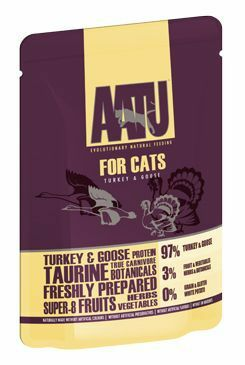 AATU Cat Turkey n Goose kapsa 85g
