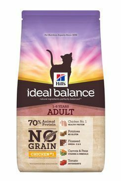 Hill's Feline Ideal B. Adult NO GRAIN Kuře bram 1,5kg
