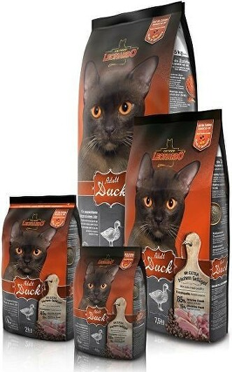 Leonardo Cat Adult Duck 2kg