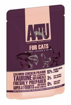 AATU Cat Salmon n Chicken n Prawn kapsa 85g