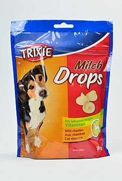 Trixie Drops Milch s vitaminy pro psy 350g TR