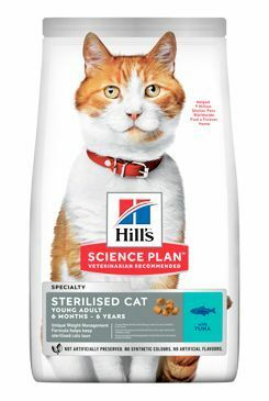 Hill's Fel. Dry Adult Young Sterilised Cat Tuna 15kg