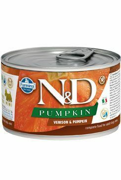 N&D DOG PUMPKIN Adult Venison & Pumpkin Mini 140g