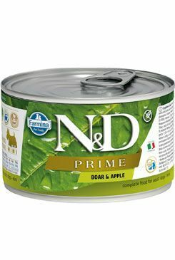 N&D DOG PRIME Adult Boar & Apple Mini 140g