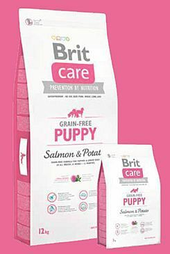 Brit Care Dog Grain-free Puppy Salmon & Potato 3kg
