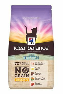 Hill's Feline Ideal B. Kitten NO GRAIN Kuře bram 1,5kg