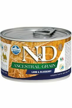 N&D DOG LOW GRAIN Adult Lamb & Blueberry Mini 140g