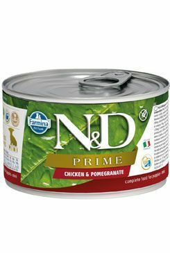 N&D DOG PRIME Puppy Chicken & Pomegranate Mini 140g