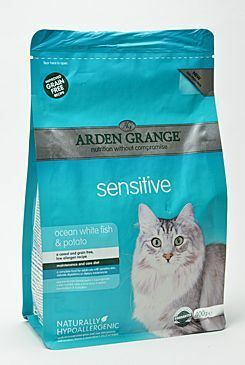 Arden Grange Cat Sensitiv Ocean Fish&Potato 400g