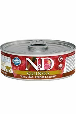 N&D GF CAT QUINOA Venison & Coconut 80g