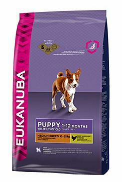 Eukanuba Dog Puppy&Junior Medium 1kg