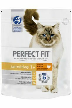 Perfect Fit CAT Sensitive 1+ s krůtím 1,4kg