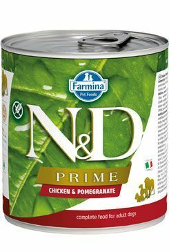 N&D DOG PRIME Adult Chicken & Pomegranate 285g