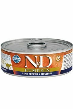 N&D GF CAT PUMPKIN Adult Lamb & Blueberry 80g