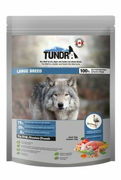 Tundra Dog Large Breed Big Wolf Moutain Formula 750g
