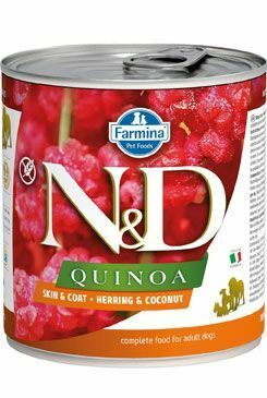 N&D DOG QUINOA Herring & Coconut 285g