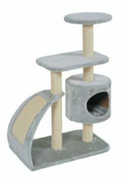 Škrábadlo WAVE cat tree L šedá 91cm Zolux