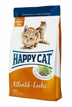 Happy Cat Supr.Adult Fit&Well Atlantik Lachs Fish 10kg